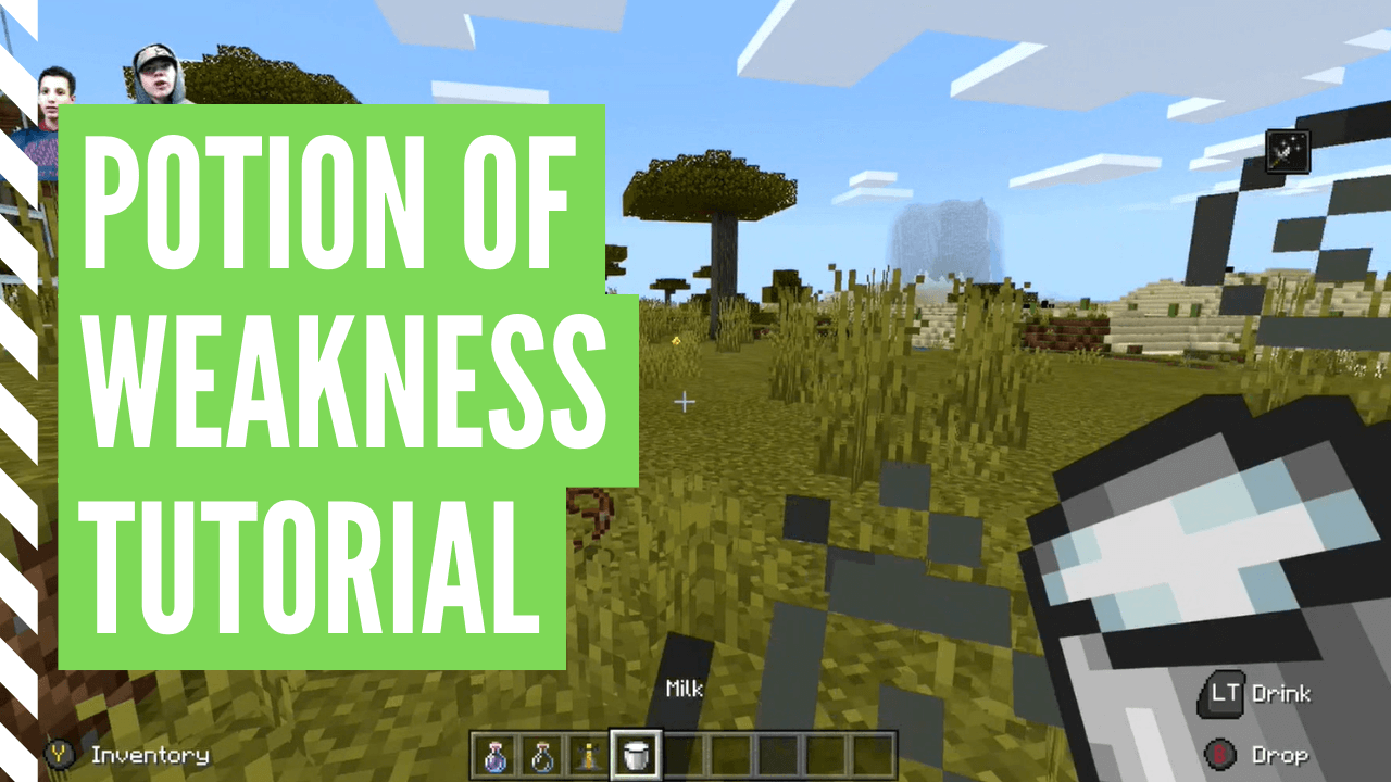 How To Make A Potion Of Weakness In Minecraft