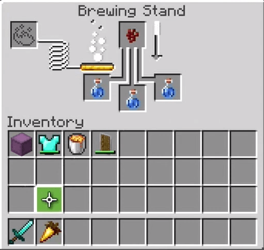 Add The First Night Vision Potion Ingredient To The Menu