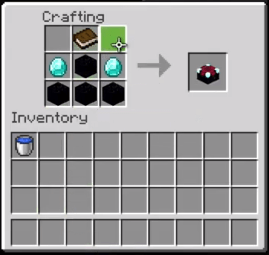 Add Items To Crafting Grid