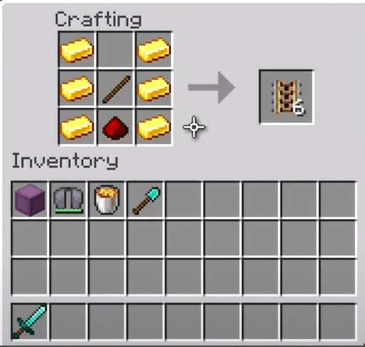 Add The Powered Rail Ingredients To The Menu