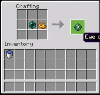 Add The Ender Pearl And Blaze Powder To The Menu