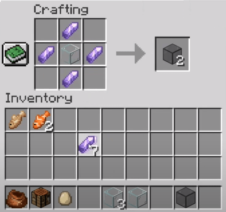 Add Tinted Glass Items To The Menu