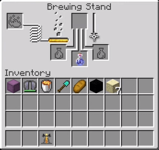 How to make a potion of weakness 4:00