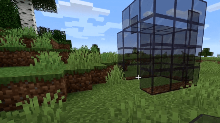 How to make tinted glass in Minecraft