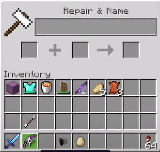 Move the Bow to You Inventory