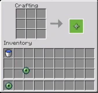 How to make eye of ender in Minecraft