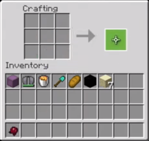 Move The Fermented Spider Eye To Your Inventory