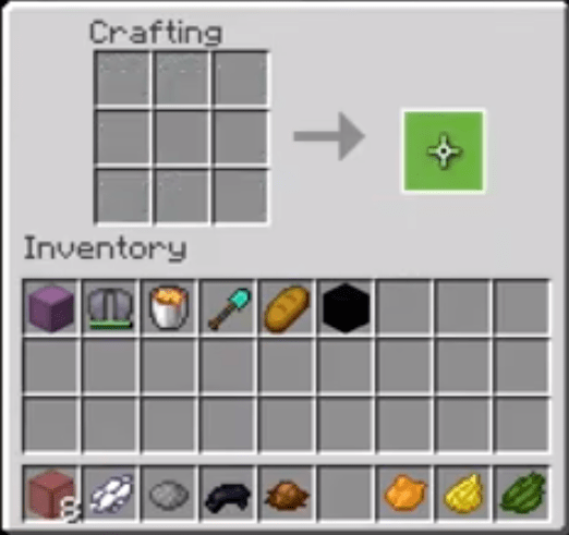 Move The Stained Glass To Your Inventory
