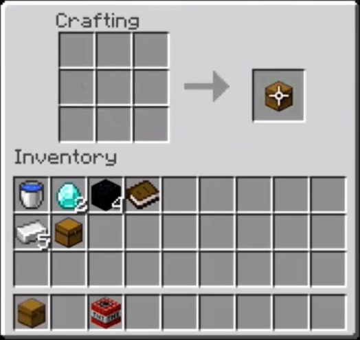 Move The Trapped Chest To Your Inventory