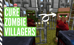 How To Cure Zombie Villagers In Minecraft