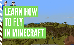 How To Fly In Creative Mode