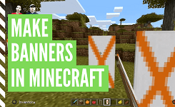How To Make Banners In Minecraft