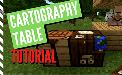 How to Make and Use a Cartography Table in Minecraft
