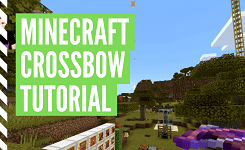 How To Craft A Crossbow In Minecraft