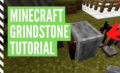 How To Make & Use A Grindstone In Minecraft