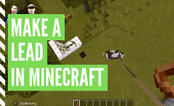 How To Craft A Lead In Minecraft