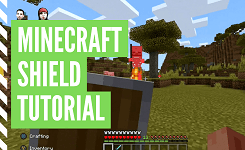 How To Craft A Shield In Minecraft