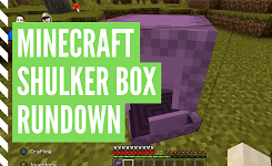 How To Make A Minecraft Shulker Box