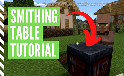 How To Make & Use A Smithing Table In Minecraft