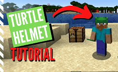 How to Get a Turtle Helmet in Minecraft