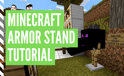 How To Make Armor Stand In Minecraft