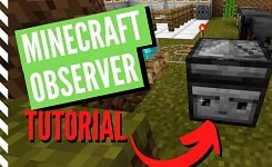 How to Make and Use an Observer in Minecraft