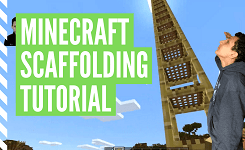How To Build Scaffolding In Minecraft