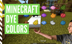 How To Make Every Color Dye In Minecraft